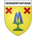 Stickers coat of arms Vernierfontaine adhesive sticker