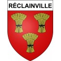 Stickers coat of arms Réclainville adhesive sticker