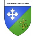 Stickers coat of arms Saint-Maurice-Saint-Germain adhesive sticker