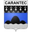 Carantec 29 ville Stickers blason autocollant adhésif