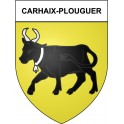 Stickers coat of arms Carhaix-Plouguer adhesive sticker
