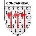 Concarneau 29 ville Stickers blason autocollant adhésif