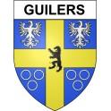 Guilers 29 ville Stickers blason autocollant adhésif