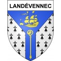 Stickers coat of arms Landévennec adhesive sticker