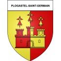 Plogastel-Saint-Germain 29 ville Stickers blason autocollant adhésif