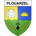 Stickers coat of arms Plouarzel adhesive sticker
