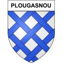 Stickers coat of arms Plougasnou adhesive sticker
