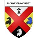 Stickers coat of arms Plounévez-Lochrist adhesive sticker