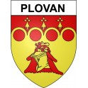 Stickers coat of arms Plovan adhesive sticker