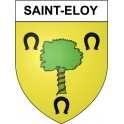 Stickers coat of arms Saint-Eloy adhesive sticker