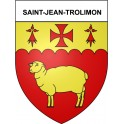 Stickers coat of arms Saint-Jean-Trolimon adhesive sticker