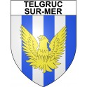 Stickers coat of arms Telgruc-sur-Mer adhesive sticker