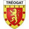 Adesivi stemma Tréogat adesivo