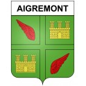 Stickers coat of arms Aigremont adhesive sticker