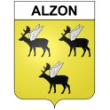 Stickers coat of arms Alzon adhesive sticker