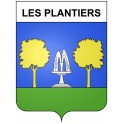 Stickers coat of arms Les Plantiers adhesive sticker