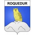 Stickers coat of arms Roquedur adhesive sticker