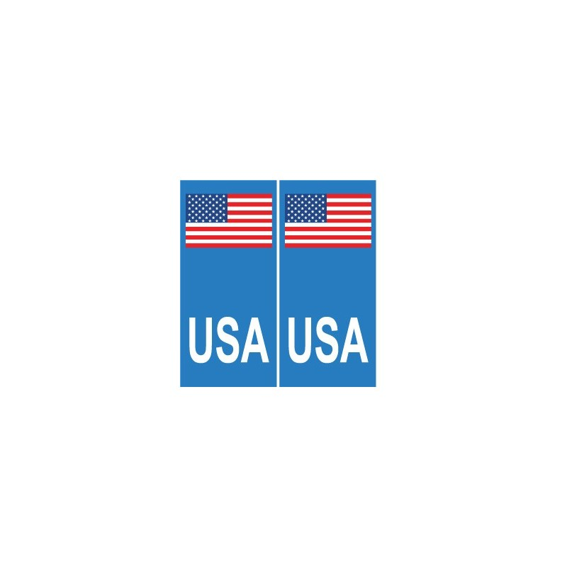 autocollant plaque immatriculation blason d partement usa united states america us sticker. Black Bedroom Furniture Sets. Home Design Ideas