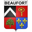 Stickers coat of arms Beaufort adhesive sticker