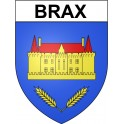 Stickers coat of arms Brax adhesive sticker