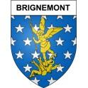 Brignemont 31 ville Stickers blason autocollant adhésif