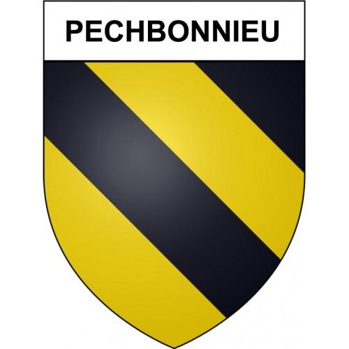 Pechbonnieu 31 ville Stickers blason autocollant adhésif