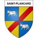 Saint-Plancard 31 ville Stickers blason autocollant adhésif