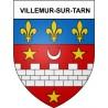 Villemur-sur-Tarn 31 ville Stickers blason autocollant adhésif