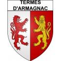 Termes-d'Armagnac 32 ville Stickers blason autocollant adhésif