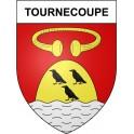 Tournecoupe 32 ville Stickers blason autocollant adhésif