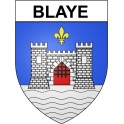Stickers coat of arms Blaye adhesive sticker