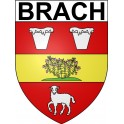 Stickers coat of arms Brach adhesive sticker