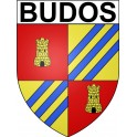 Stickers coat of arms Budos adhesive sticker