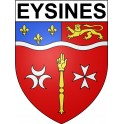 Stickers coat of arms Eysines adhesive sticker