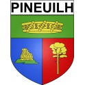 Stickers coat of arms Pineuilh adhesive sticker