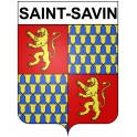 Stickers coat of arms Saint-Savin adhesive sticker