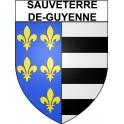 Sauveterre-de-Guyenne 33 ville Stickers blason autocollant adhésif
