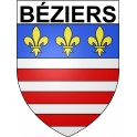 Stickers coat of arms Béziers adhesive sticker