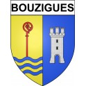 Bouzigues 34 ville Stickers blason autocollant adhésif