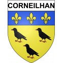 Stickers coat of arms Corneilhan adhesive sticker