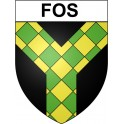Stickers coat of arms Fos adhesive sticker