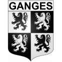 Stickers coat of arms Ganges adhesive sticker