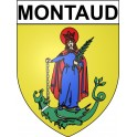 Stickers coat of arms Montaud adhesive sticker