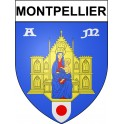 Montpellier 34 ville Stickers blason autocollant adhésif