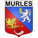 Stickers coat of arms Murles adhesive sticker