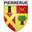 Stickers coat of arms Pierrerue adhesive sticker