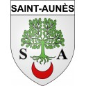 Stickers coat of arms Saint-Aunès adhesive sticker