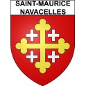 Stickers coat of arms Saint-Maurice-Navacelles adhesive sticker