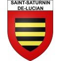 Saint-Saturnin-de-Lucian 34 ville Stickers blason autocollant adhésif