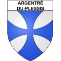 Argentré-du-Plessis 35 ville Stickers blason autocollant adhésif